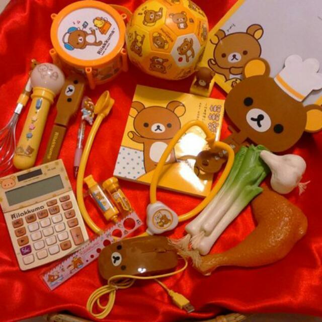 懶懶熊/拉拉熊抓周用品出租