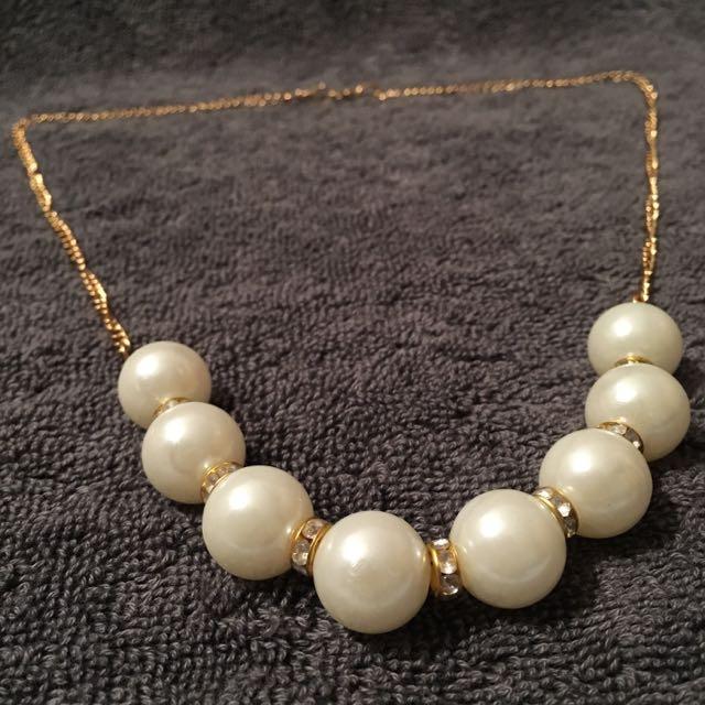 保留[全新]珍珠項鍊