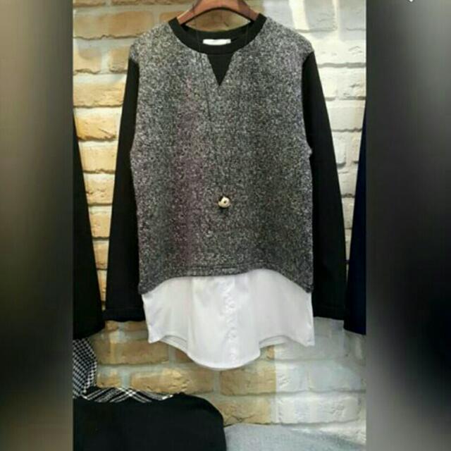 全新正韓上衣 原價1800多 如果不相信正韓的話請不要在網路上買