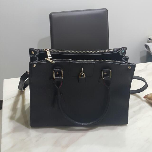 韓國黑色時尚包包