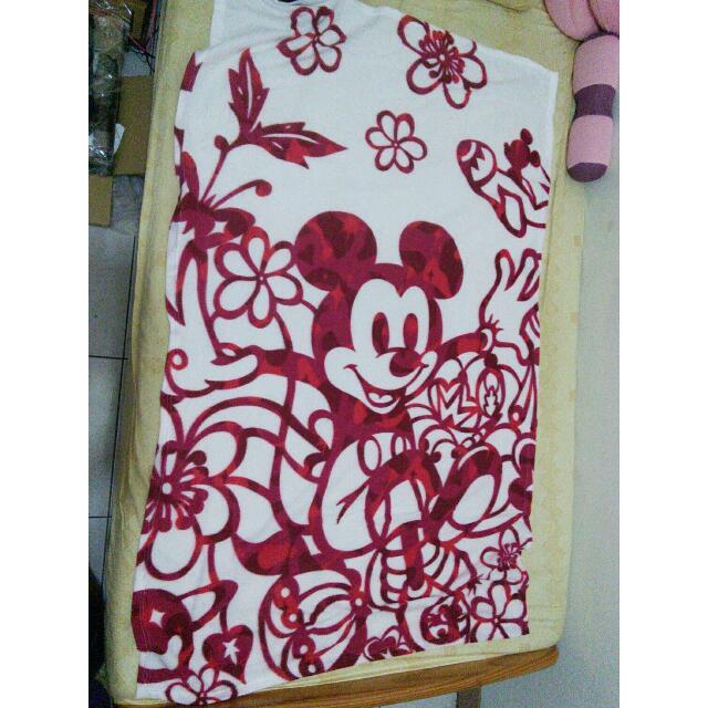 出清~迪士尼米奇刷毛毯