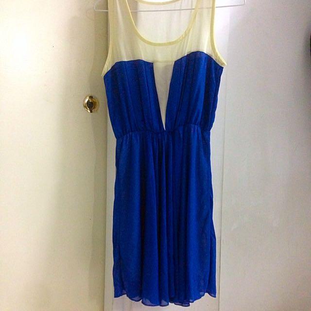 👗寶藍色洋裝