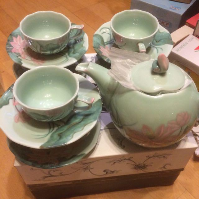 貴婦午茶茶壺組。