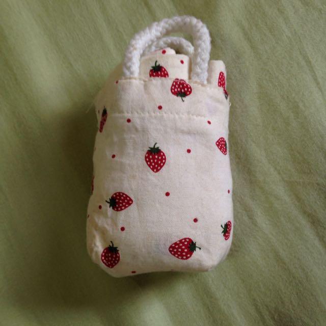 草莓 小收納袋
