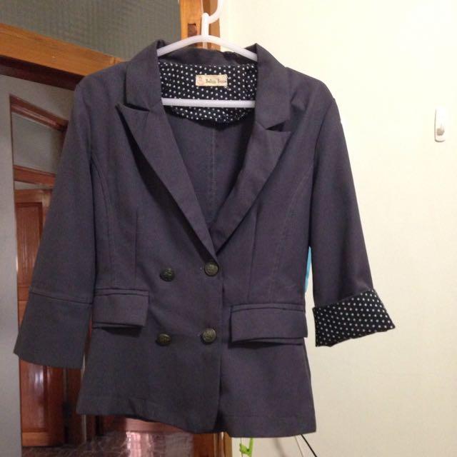 七分袖 薄 西裝外套