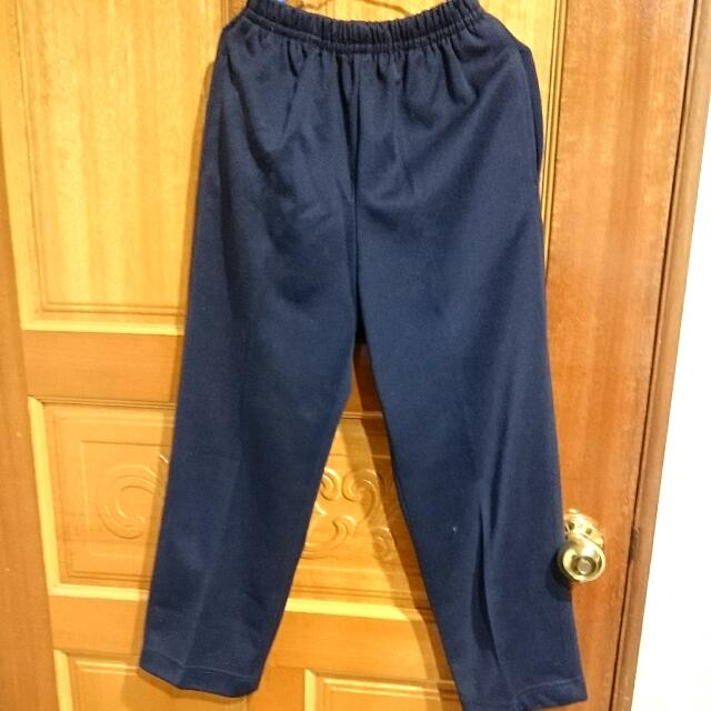 小學生 藍色制服褲