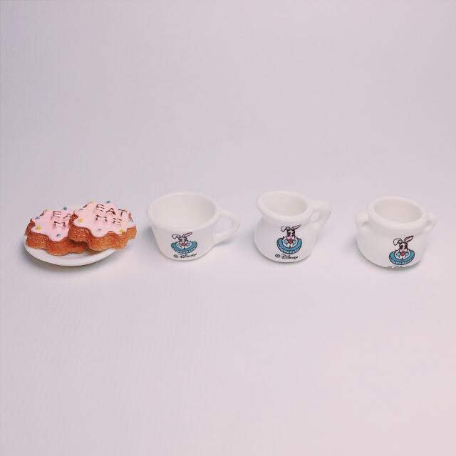 愛麗絲 時間兔 迷你杯盤組