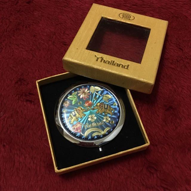 泰國 紀念品 小圓鏡