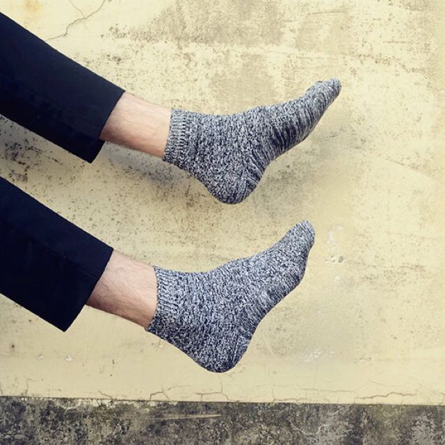 雪花襪 潮流款余文樂同款 男款 長襪 中筒襪