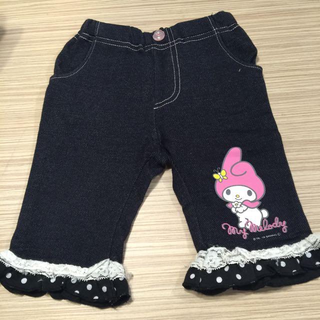 二手 日本購買 Melody褲子 70-80cm