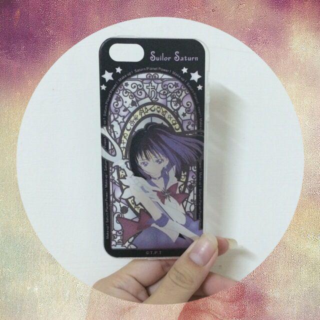 (待匯)美少女戰士!土星 iPhone5/5s 手機殼/透明軟殼💗