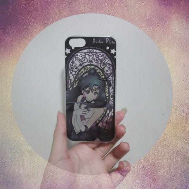 (待匯)美少女戰士!冥王星 iPhone5/5s 手機殼/透明軟殼💗