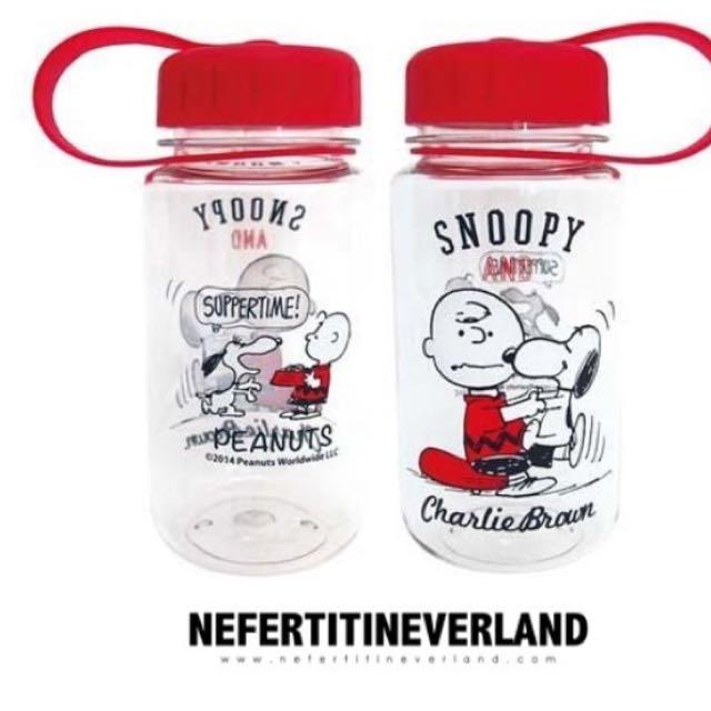 徵 Snoopy紅色水壺