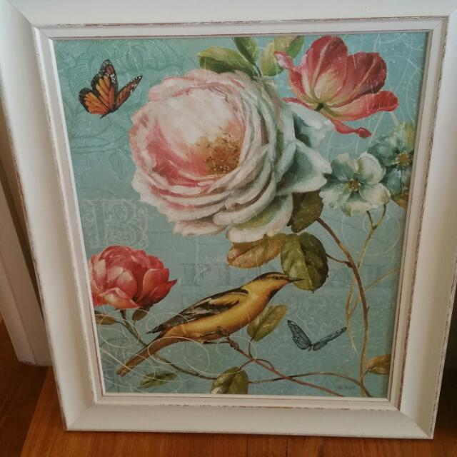 Beatiful Shabby Chic Pictures In Frames