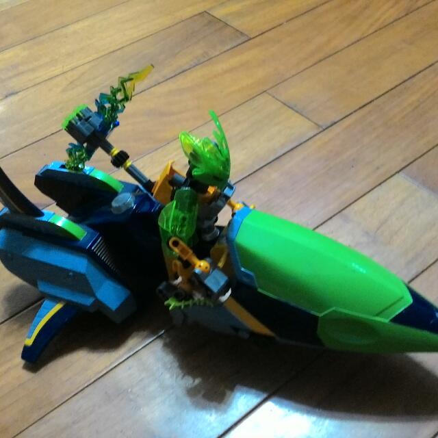 LEGO 樂高 70778 叢林守護者 生化戰士