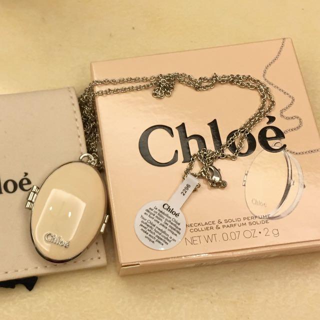 (降價)Chloe經典同名香膏項鍊1.8g (陶瓷版)