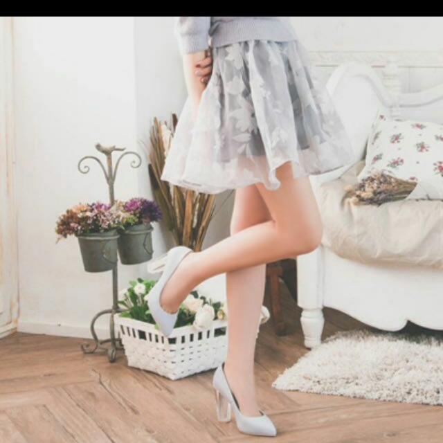 grace gift 仙杜瑞拉 公主 高跟鞋 超美 玻璃鞋跟