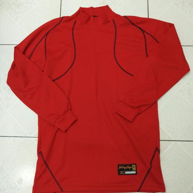 MIZUNO 日製紅標victory stage練習衣