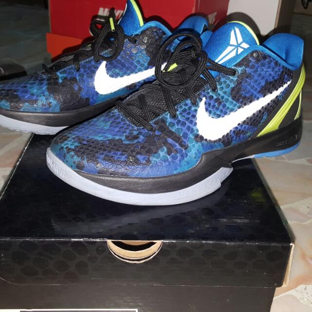 timeless design e51d7 84a9b Nike Kobe VI Blue Camo, Men s Fashion on Carousell