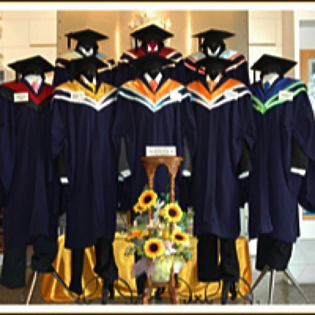 NTU Graduation Gown + Hood + Mortar board, Everything Else on Carousell