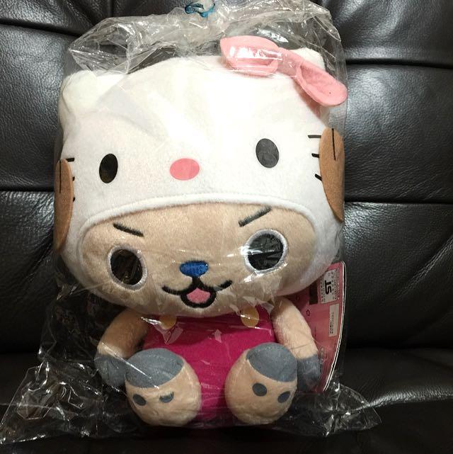 One Piece 喬巴 X Hello Kitty 玩偶