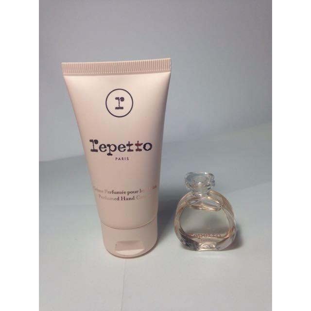 Repetto 護手霜+小香水