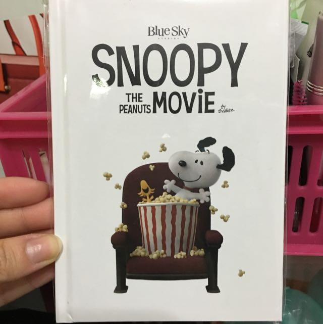Snoopy 史努比 電影版 筆記本