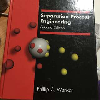 NUS CN3132 Process Separation Textbook