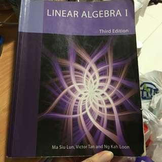 NUS MA1101R Linear Algebra