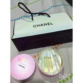 Chanel 試管小香禮盒