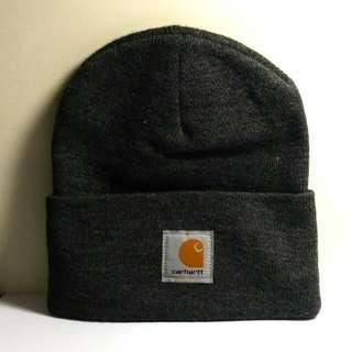 Carhartt經典毛帽 鐵灰色