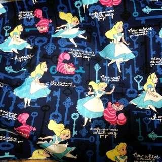 轉賣 日本帶回 愛麗絲夢遊仙境 布匹 夢幻 萌 蘿莉