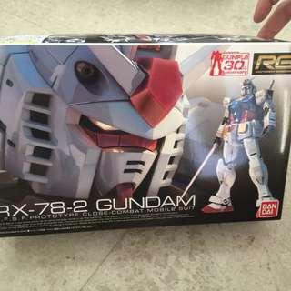 RX 78-2 Gundam Real Grade 01