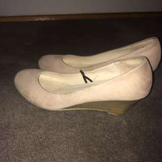 Nude Rubi Shoes Wedges