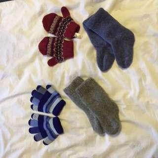 *Reserved - Gloves & Socks For Toddler Boy