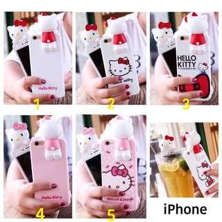 👑KT 立體背影 iPhone 保護殼📲