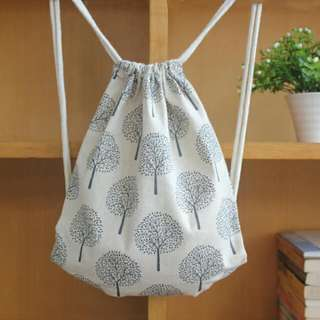 INSTOCK! Trees Of Shelter Drawstring Bag