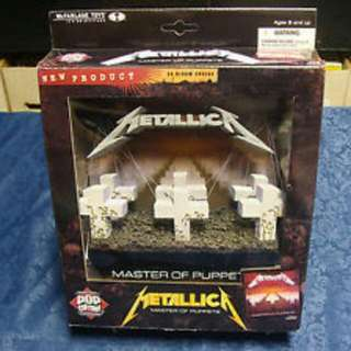 (Reserved) 3D Album Cover. Metallica. Master Of Puppets