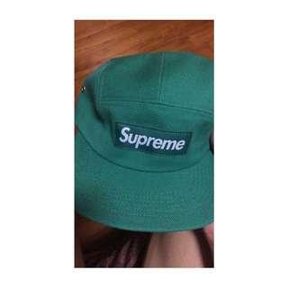 Supreme Camp Cap 五分割帽 綠色