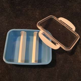 [全新]保鮮盒(藍)