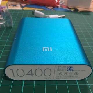小米行動電源 10400 藍色
