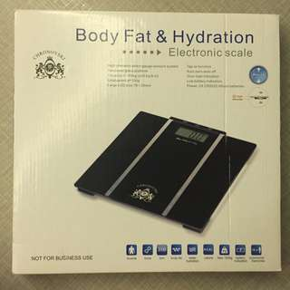 [BN] Body Fat & Hydration Weighing Scale (reserved)
