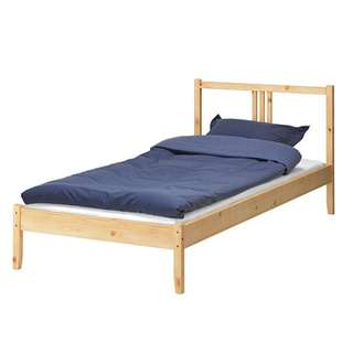 IKEA FJELLSE Bed Frame and Pine