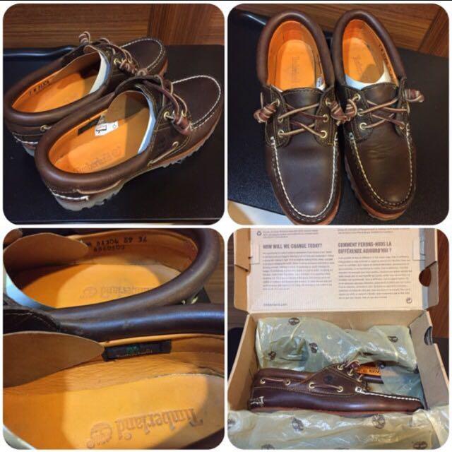 (9.8成新) Timberland US7號/經典雷根鞋/美國購/附鞋盒
