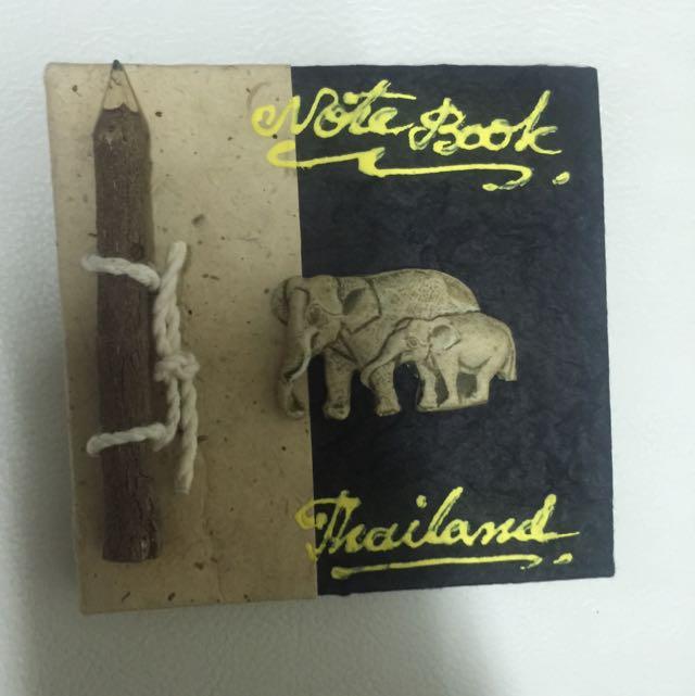 泰國大象手工小筆記本
