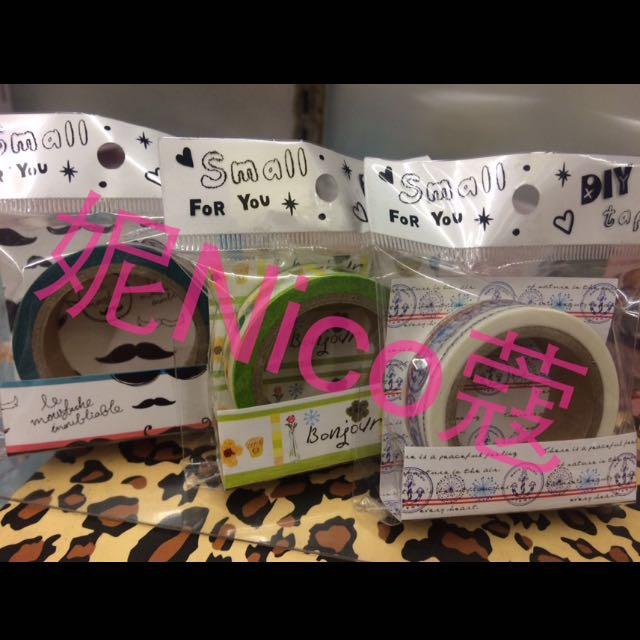💕現貨💕可愛造型紙膠帶