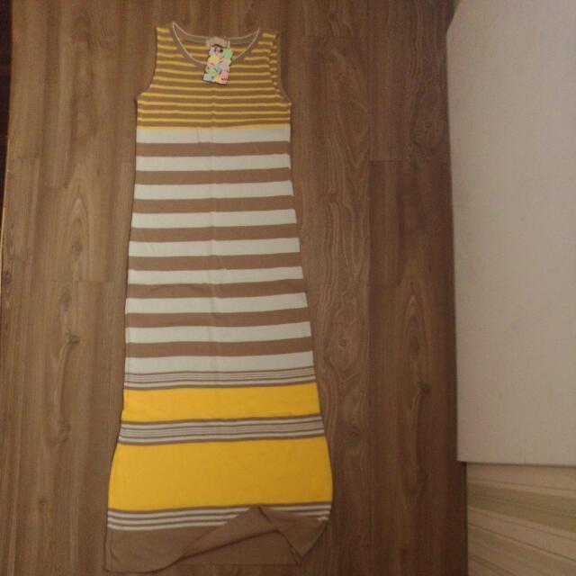無袖針織長裙