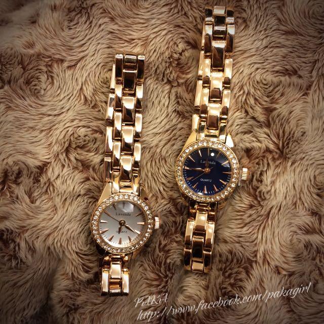 韓國飾品 華麗手錶✨