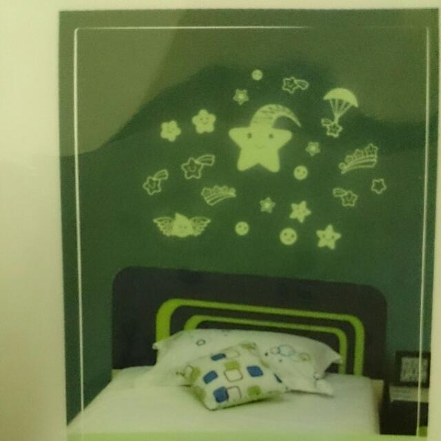 夜光貼紙 螢光壁貼