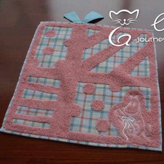 日本 嚕嚕米  小方巾
